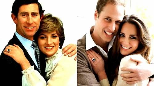 Batu Mustika Putri Diana dan Kate Middleton