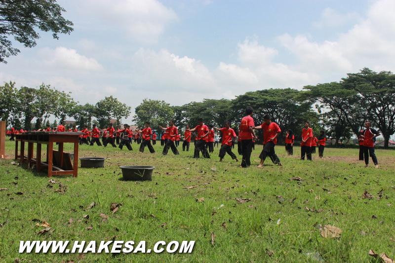 Latihan Olah Raga Pernafasan Hakesa Di Cimahi