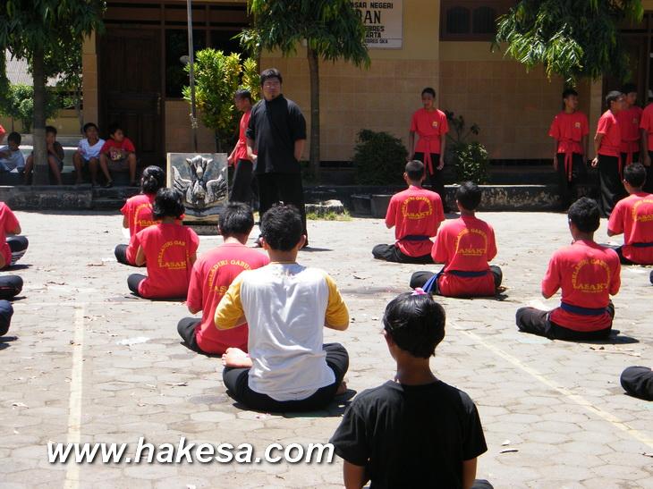 Latihan Olah Raga Pernafasan Hakesa Di Manado