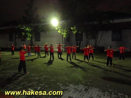Latihan Olah Raga Pernafasan Hakesa Di Kupang