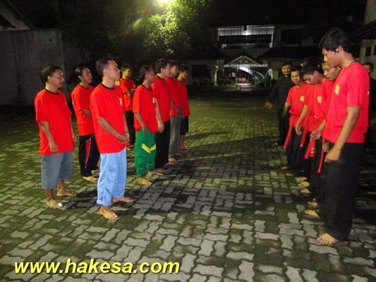 Latihan Olah Raga Pernafasan Hakesa Di Sorong