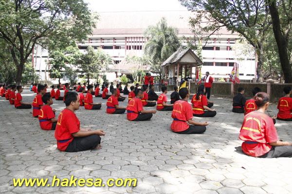 Olahraga Senam Pernafasan Kesehatan Hakesa Di Karangjati Ngawi