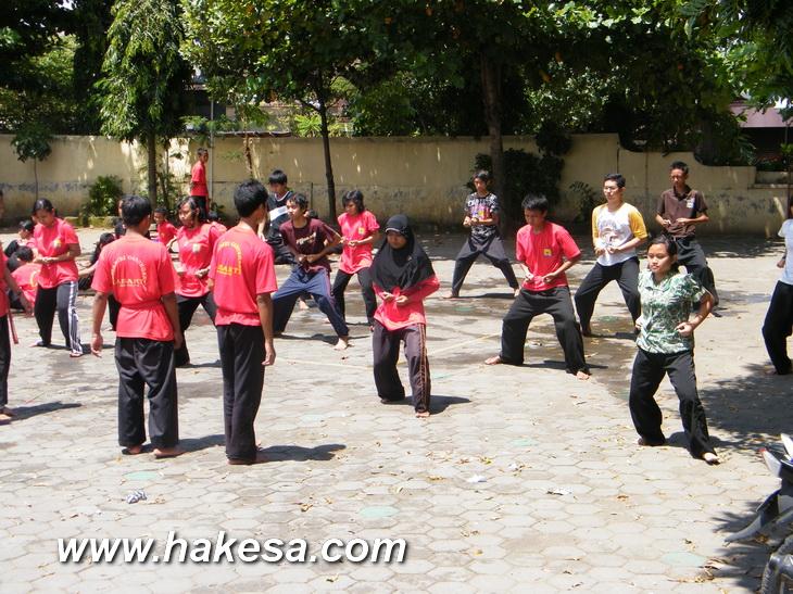 Latihan Olah Raga Pernafasan Hakesa Di Bandar Lampung